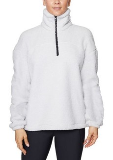 Betsey Johnson Funnel-Neck Pullover Sweatshirt