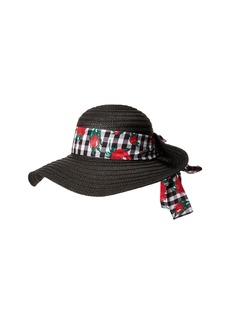 Gingham Floppy Hat