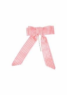 Betsey Johnson Gingham Hair Bow Pin