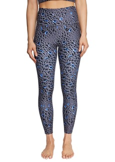 Betsey Johnson Glacial Leopard Print Leggings