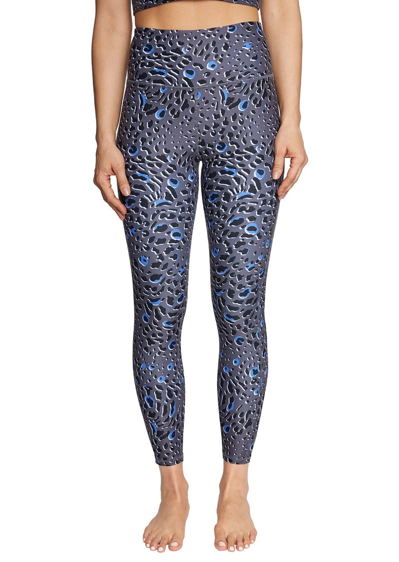 Betsey Johnson Glacial Leopard Print Leggings