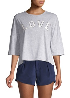Betsey Johnson Graphic Knit Tee