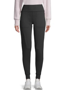 Betsey Johnson High-Rise Slim Jogger Pants