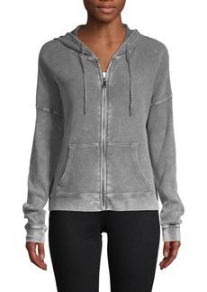 Betsey Johnson Hooded Stretch Jacket