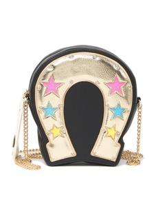 Betsey Johnson Horseshoe Kitsch Crossbody Bag