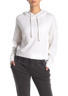 Betsey Johnson Knit Crop Hoodie