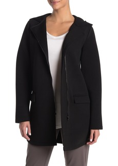 Betsey Johnson Knit Hooded Coat