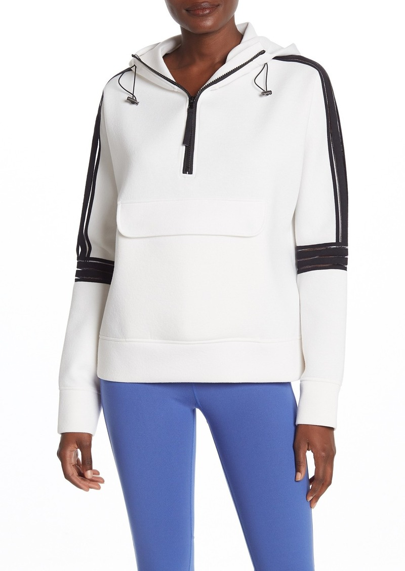 Betsey Johnson Knit Solid Hooded Pullover