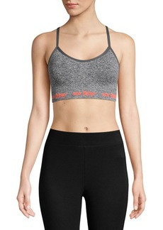 Betsey Johnson Knit Sports Bra