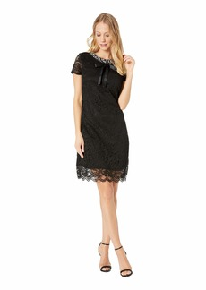 Betsey Johnson Lace Dress with Pearls