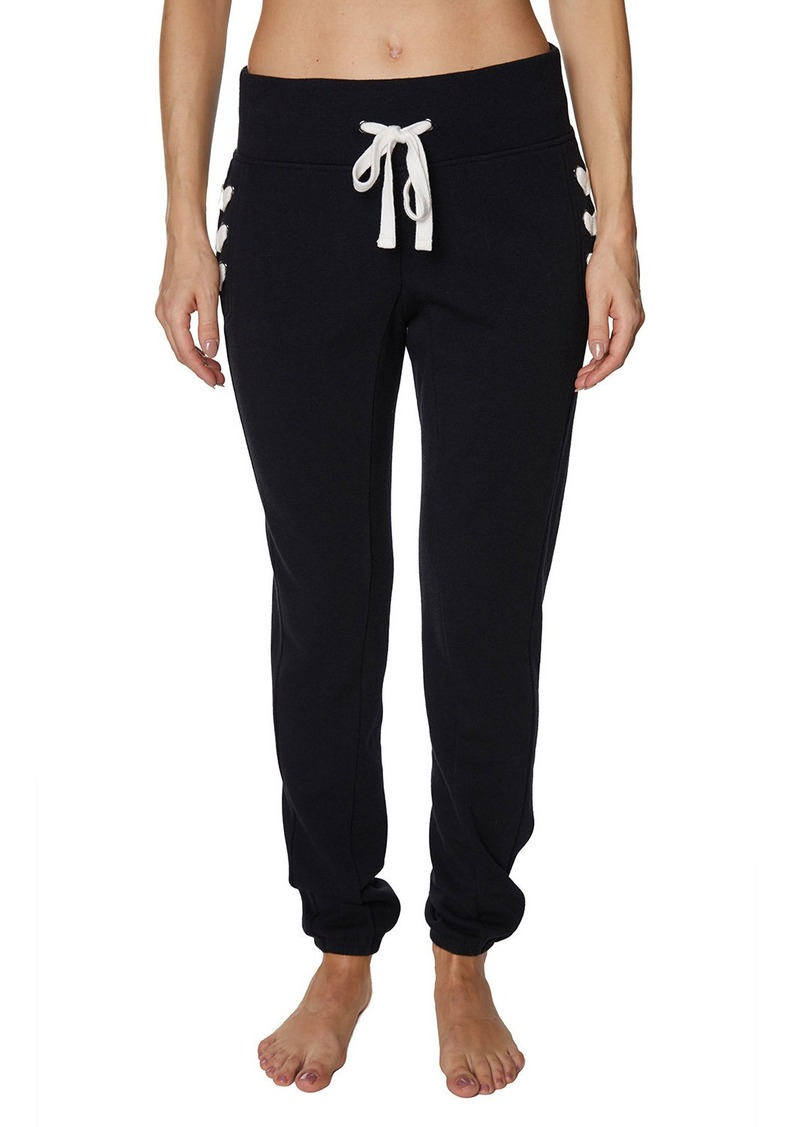 Betsey Johnson Lace-Up Jogger Pants
