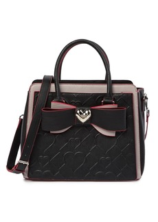 Betsey Johnson Large Bow Satchel