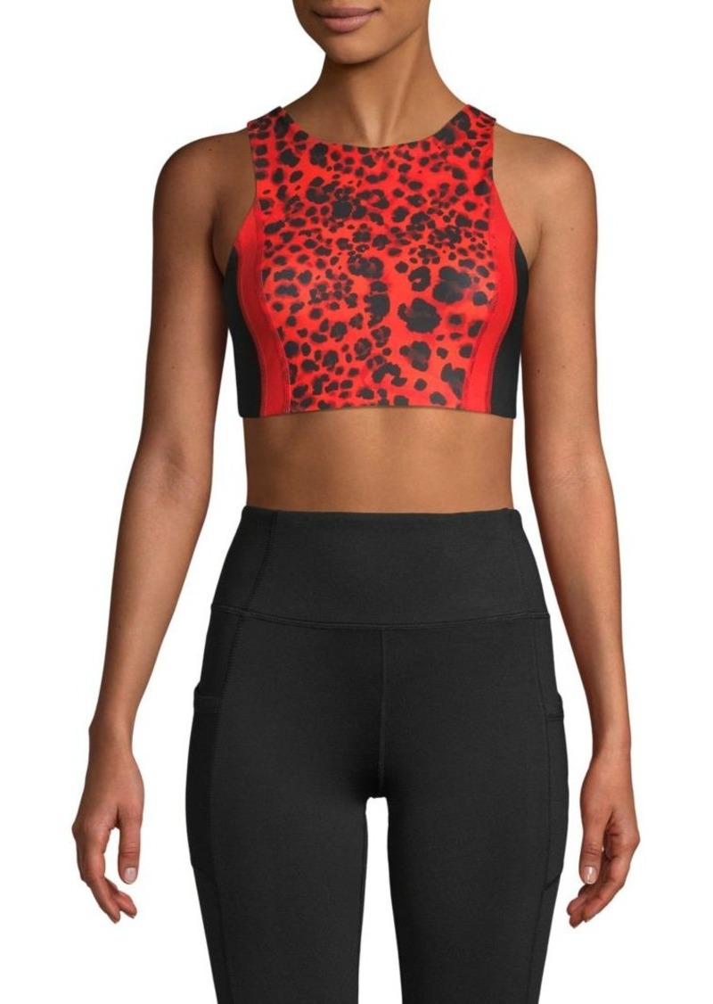 Betsey Johnson Leopard-Print Bralette