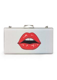 Betsey Johnson Lips & Eyes Clutch