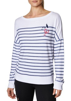 Betsey Johnson Lobster Stars Sweatshirt