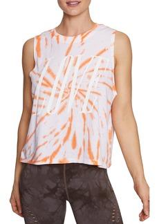 Betsey Johnson Love Tie Dye Graphic Tank Top