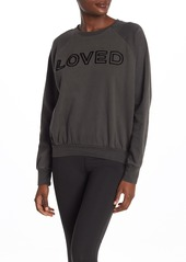 Betsey Johnson Loved Knit Sweatshirt