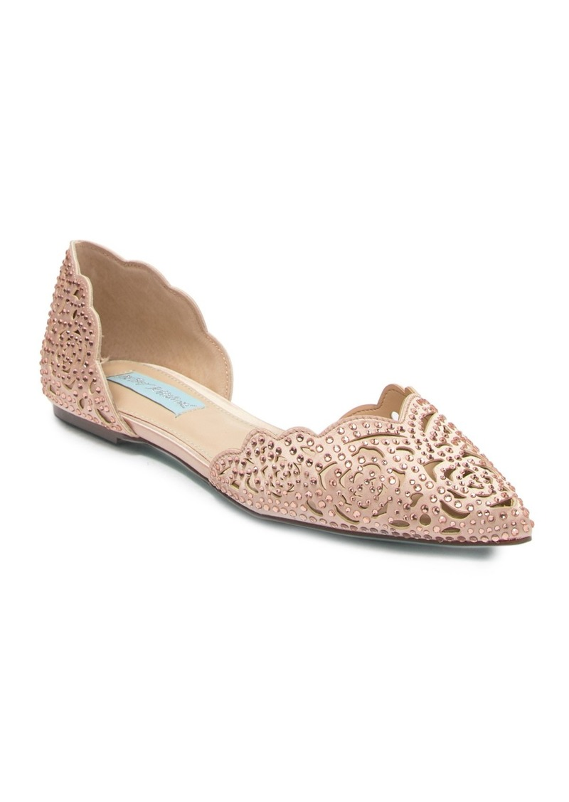 Betsey Johnson Lucy d'Orsay Flat