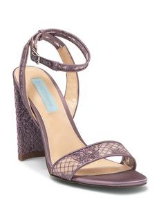 Betsey Johnson Mari Block Heel Lace Sandal