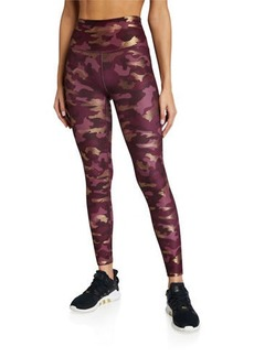 Betsey Johnson Metallic Camo Leggings