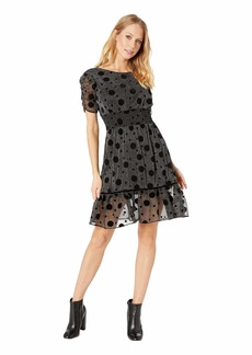 Betsey Johnson Metallic Dot Dress