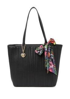 Betsey Johnson Mya Scarf Strap Tote Bag