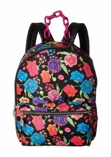 Betsey Johnson Nylon Large Backpack