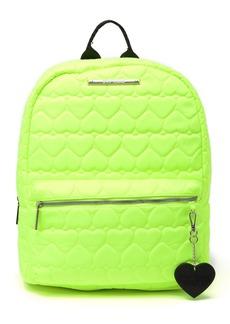 Betsey Johnson Nylon School Backpack