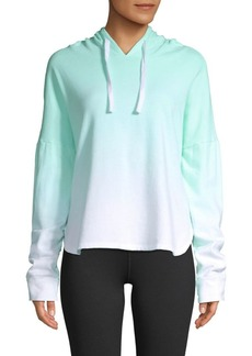 Betsey Johnson Ombre Cotton Hoodie