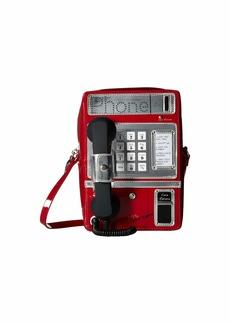 Betsey Johnson Phone Tag Crossbody