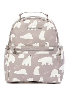 Betsey Johnson Polar Bear Print School Backpack