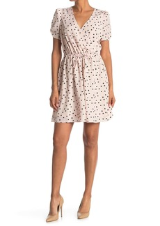 Betsey Johnson Polkadot Print Mini Dress