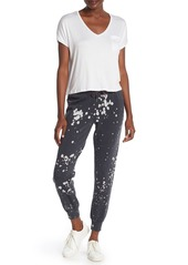 Betsey Johnson Printed Drawstring Knit Sweatpants