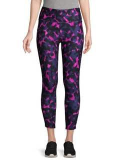 Betsey Johnson Printed Mesh Leggings