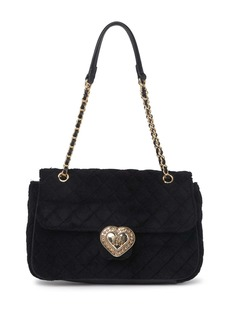 Betsey Johnson Quilted Terry Shoulder Bag