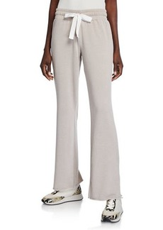 Betsey Johnson Raw-Edge Twill Tape Pants