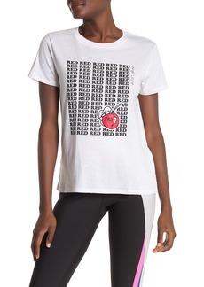 Betsey Johnson Red Cherry Graphic Print T-shirt