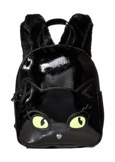 Betsey Johnson Resting Kitsch Face Backpack