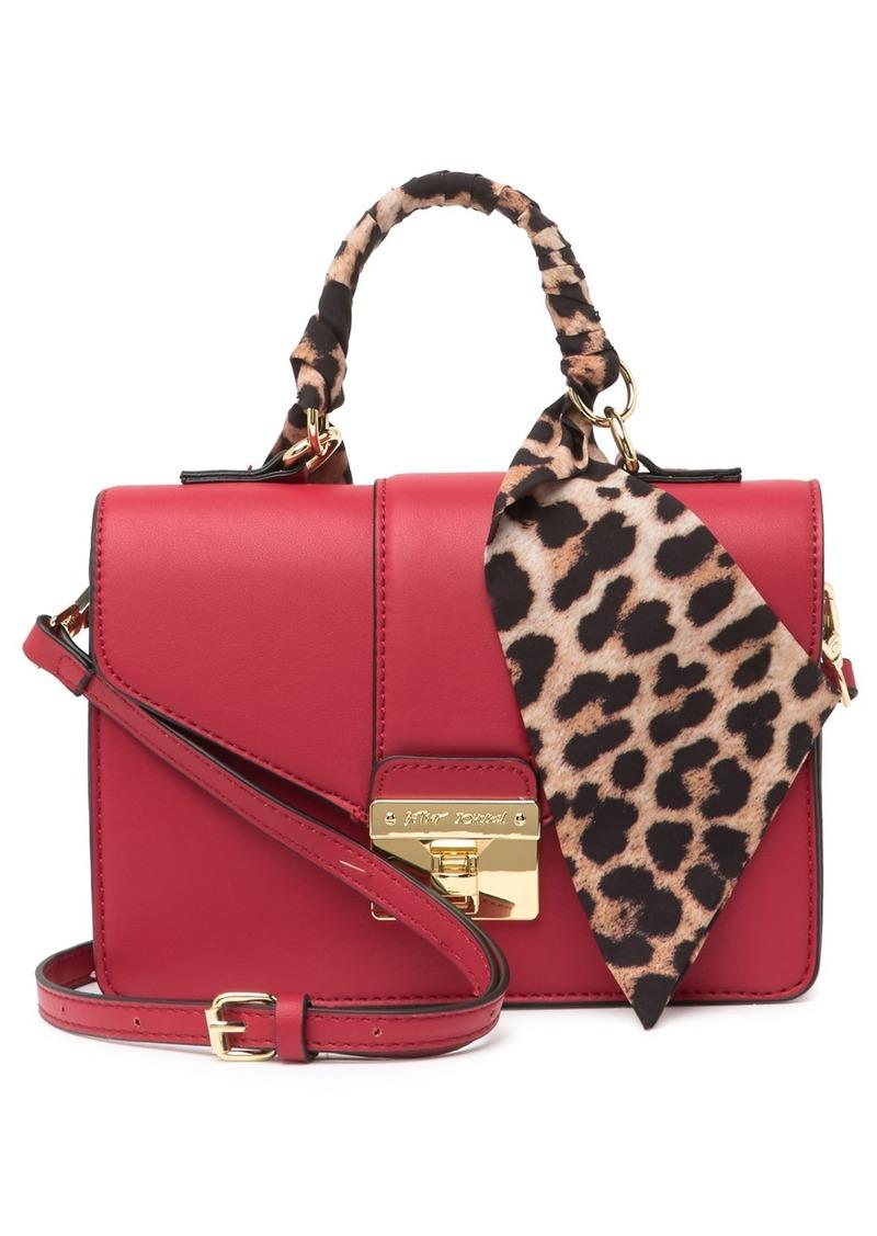 Betsey Johnson Scarf Handle Crossbody Bag
