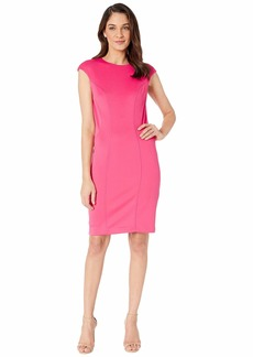 Betsey Johnson Scuba Midi Dress