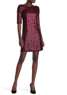Betsey Johnson Sequin Shift Dress