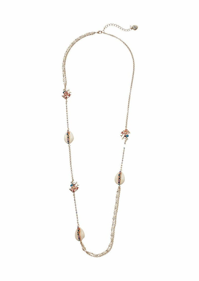 Betsey Johnson Shell Necklace