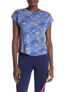 Betsey Johnson Short Sleeve Burnout Knit T-shirt