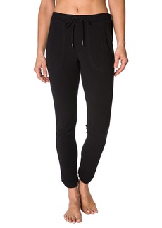 Betsey Johnson Skinny Velvet Trim Pants