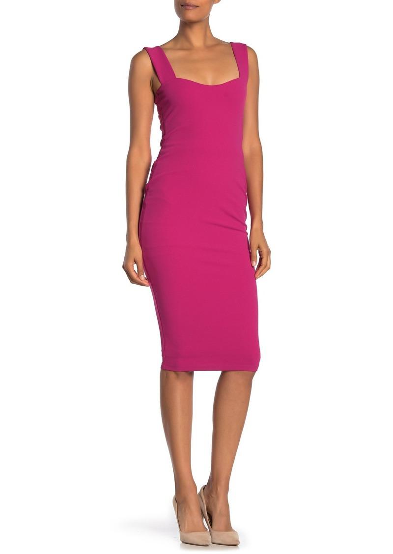 Betsey Johnson Sleeveless Midi Dress