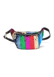 Betsey Johnson Spectrum Spectacular Sequins Belt Bag