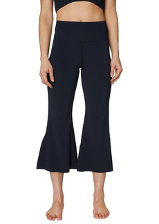 Betsey Johnson Split-Hem Flare 7/8 Yoga Pants