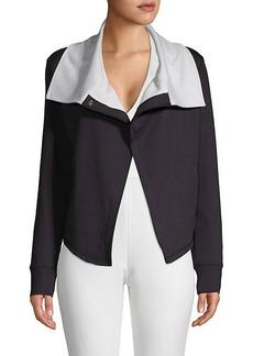 Betsey Johnson Spread Collar Jacket