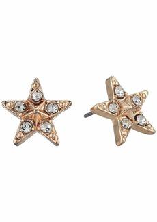 Betsey Johnson Star Stud Earrings