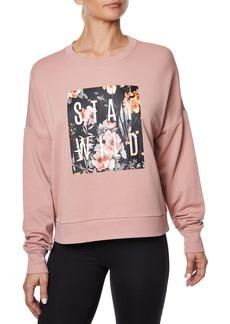 Betsey Johnson Stay Wild Graphic Sweatshirt